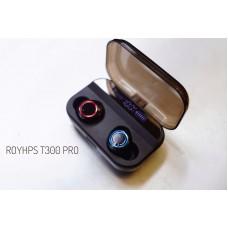 ❄︎新年優惠減$100❄︎ T300 Pro 鋼鐵黑 雙主機真無線耳機